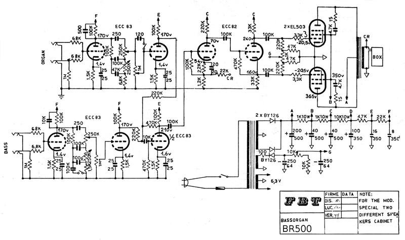Schema Elettrico Liberty 125 : Tubeamp vintage sound amplificatore fbt br schema